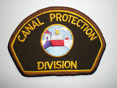 Panama Canal Zone Protection Division Police vintage authentic patch
