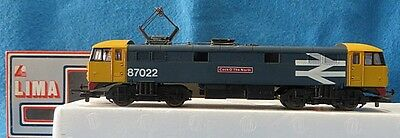 """LIMA Trains HO?OO British LOCOMOTIVE CL.87022 """"Cock O' The North"""" Boxed"""