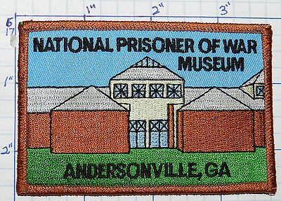 Georgia, National Prisoner Of War Museum Andersonville Travel Souvenir Patch
