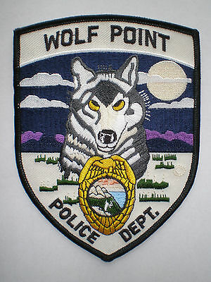 MT Montana Wolf Point Police Dept patch