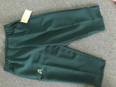 Holland Park BA Logo Bowls Australia LADIES Lawn Bowls 3/4 Bowls Pants GREEN