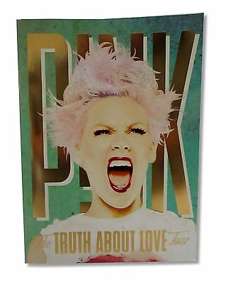 Pink P!nk The Truth About Love Green 2013 Tour Book Program New Official