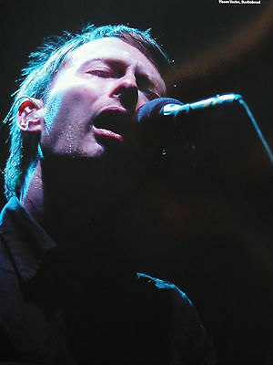 Radiohead - Magazine Cutting (Full Page Photo) (Ref Ga)