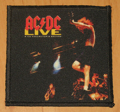"AC/DC ""LIVE"" silk screen PATCH"