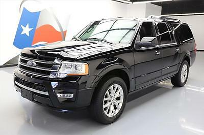 2016 Ford Expedition  2016 FORD EXPEDITION EL LTD ECOBOOST SUNROOF NAV 12K MI #F22412 Texas Direct