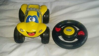 chicco car with steering wheel