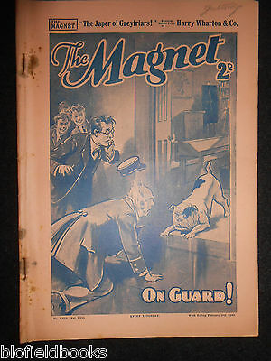 The Magnet; Billy Bunter's Own Paper - WWII Era Boy's Comic - February 3rd 1940