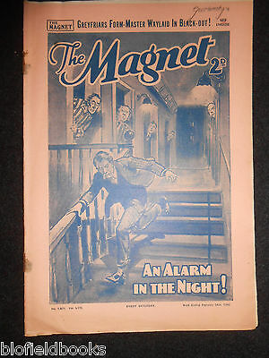 The Magnet; Billy Bunter's Own Paper - WWII Era Boy's Comic - February 24th 1940