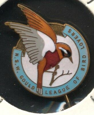 NSW Gould League Of Bird Lovers 1942 Members Badge
