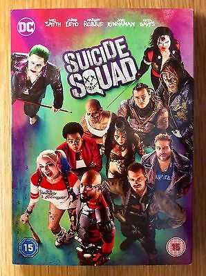 DVD Slipcase Only  -  NO DISCS Included  -  Suicide Squad