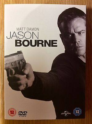 DVD Slipcase Only  -  NO DISCS Included  -  Jason Bourne