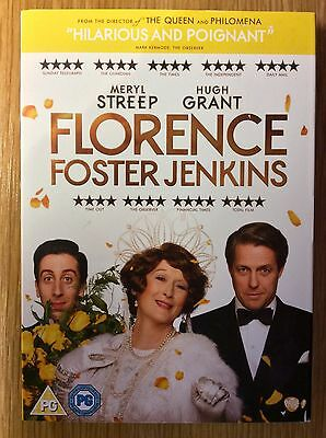 DVD Slipcase Only  -  NO DISCS Included  -  Florence Foster Jenkins