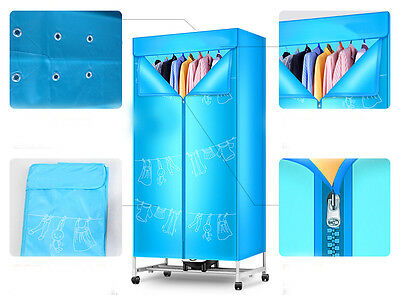 Mute Home Portable Energy-saving Rotary Control Panel Electric Air Clothes Dryer