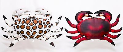 Common Crab Soft Toy Pillow cuddly teddy stuffed fish Ocean Sea Shore Gaby  60cm