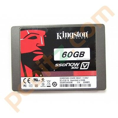 "Kingston SV300S37A/60G SSDNow V300 60GB SATA 2.5"" Solid State Drive (SSD)"