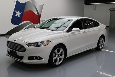 2016 Ford Fusion  2016 FORD FUSION SE ECOBOOST REAR CAM ALLOY WHEELS 34K #361734 Texas Direct Auto