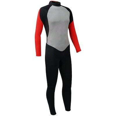 Men Adults Full-Length Wetsuit Surf Diving Water Sports Size XL 180-185 cm 2.5mm