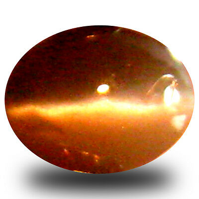 0.26 ct  Oval Cabochon (4 x 3 mm) Un-Heated Color Change Alexandrite Cat's Eye