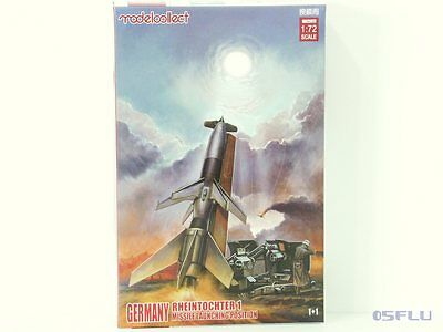 Modelcollect 1:72 UA72072 Germany WWII Rheintochter 1 missile launching position