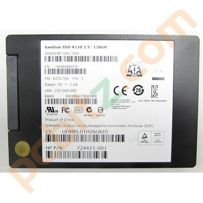 Sandisk X110 SD6SB1M-128G-1006 128GB SATA 6G Solid State Drive (SSD)