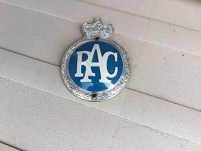 Vintage Rac Badge Bmc Mini Morris Minor Triumph Wolseley Riley Singer