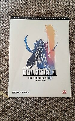 Final Fantasy XII 12 Limited Edition hardback hardcover  The Complete game Guide