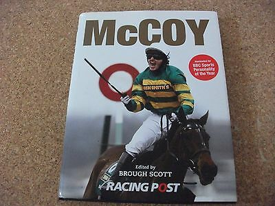 McCOY - RACING POST HARDBACK BOOK EDITED BY BROUGH SCOTT
