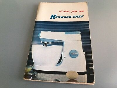 Kenwood Chef model A701A User Manual and Recipe Book (3rd edition)