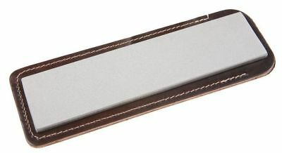 "Eze-Lap 2"" x 8"" Fine  Diamond Bench Sharpening Stone 600 In a Pouch  76F"