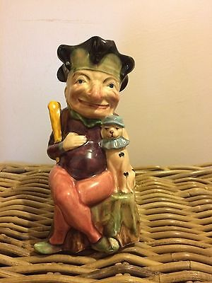 Mr Punch Toby Jug