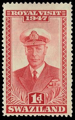 "SWAZILAND 44 (SG42) - Royal Visit ""King George VI"" (pa38414)"