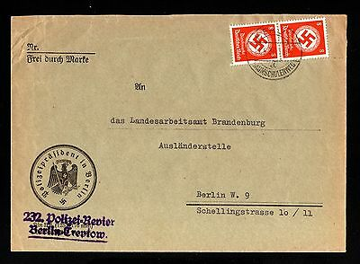 15990-GERMAN EMPIRE-Official MILITARY COVER Berlin.1943.WWII.DEUTSCHES REICH