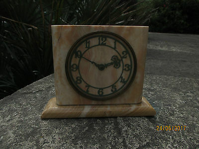 Smiths 8 Day Marble mantel clock.