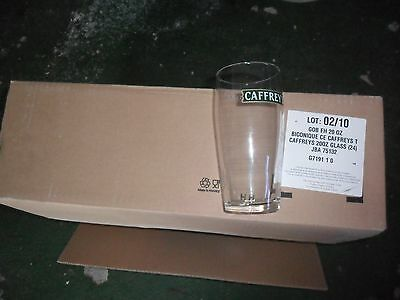 Ful Box Of 24 Cafreys Pint Glasses Brand New.