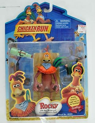 CHICKEN RUN Action Figure ROCKY with SPYSCOPE & COMMUNICATIONS PACK  MOC