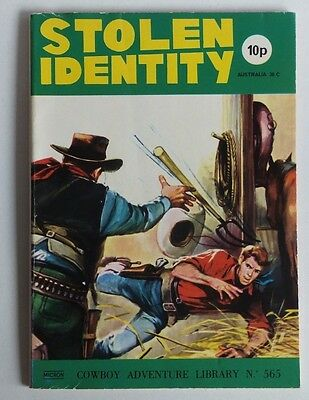 "MICRON: Cowboy Adventure Picture Library. # 565 ""Stolen Identity""."