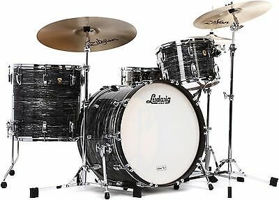 FREE UK&EU Shipping! Ludwig Set Kit Classic Maple Fab 22 with FREE Snare Drum !