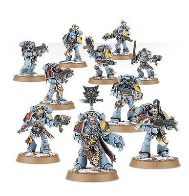 NEW 10 Man Space Wolves Pack - Grey Hunters / Blood Claws Warhammer 40k