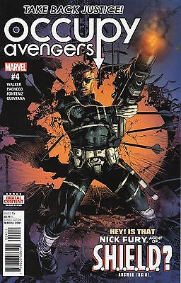 Occupy Avengers #4 (NM)`17 Walker/ Pacheco