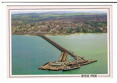 Postcard: Aerial View - Ryde Pier, Isle of Wight