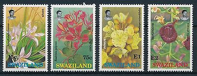 [K44807] Swaziland 1991 Flowers Good set of stamps very fine MNH