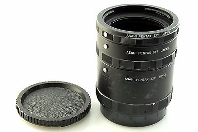 Pentax 6x7 67, 67ii extension tube set. Ideal for close up and macro photography