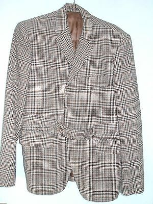 """True Vintage 1960,s John Collier  Tweed Sporting Jacket . Size Small 38"""""""