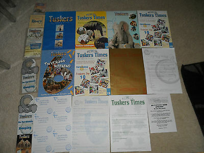 TUSKERS TIMES TUSKER COLLECTORS CLUB OFFICIAL NEWS PLUS MORE Highly Collectable.