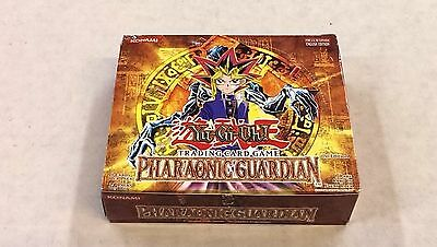 Yu-Gi-Oh Pharaonic Guardian / 1st Edition / 24 Pack Booster Box (24 packs + box)