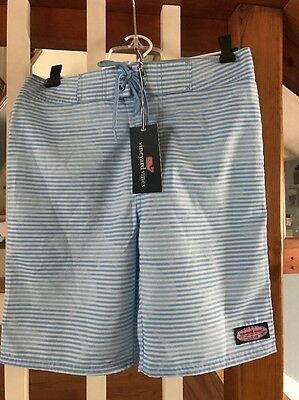 NWT Vineyard Vines Boys Whale -Size L Large (16) BLUE $55 Bathing Suit