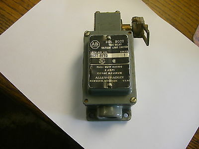 Allen Bradley 802T-R1Td Time Delay Oiltight Limit Switch Used