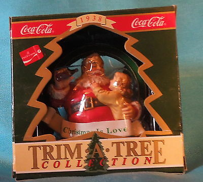 Coca-Cola Christmas Ornament Trim*a* Tree Collection  1938 Christmas Is Love