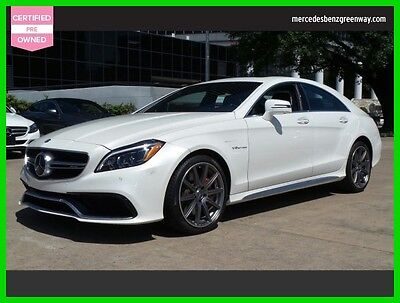 2015 Mercedes-Benz CLS-Class CLS 63 AMG S-Model 2015 CLS 63 AMG S-Model Used Certified Turbo 5.5L V8 32V Automatic Sedan Premium