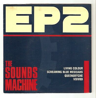"EP2 The Sounds Machine - Screaming Blue Messiahs Voivod etc 7"" vinyl  1988 A1/B1"